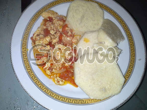 Hot Yam and Egg Sauce very delicious just the way you like it. Order now and start enjoying