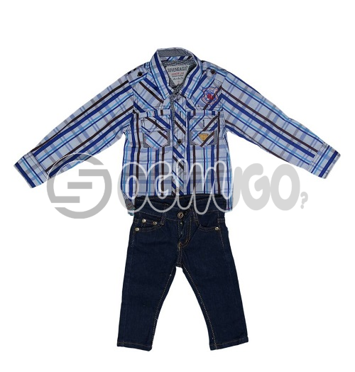 F&S Jean+Seven eagle printed for boys.The F&S is a designer that is worn throughout the world.They are popularly known for their unique style and readiness to production