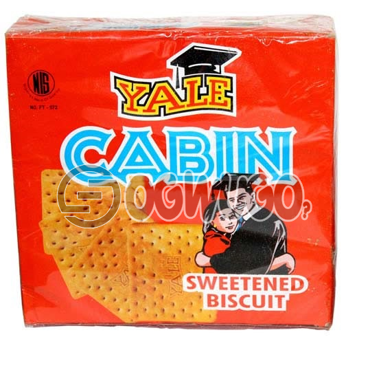 YALE CABIN BISCUIT, crunchy,tasty and very satisfying for your breakfast and snacks time.