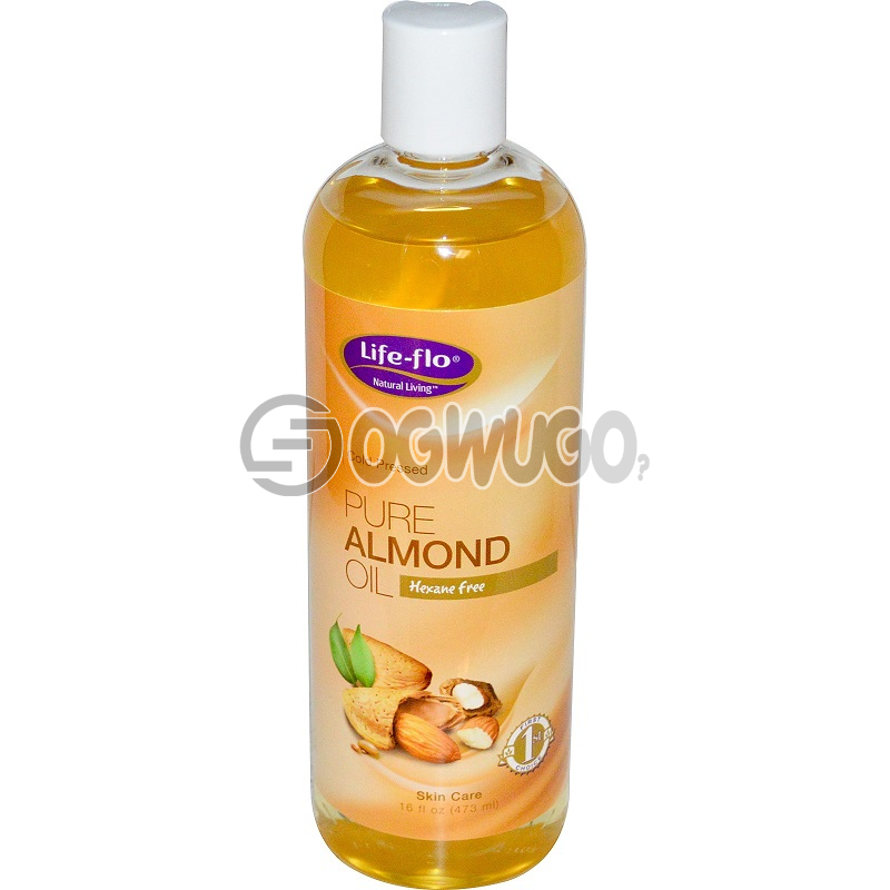 Pure Almond Oil: unable to load image