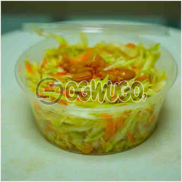 A portion of Freshly Made Topper Salad with enough tasty ingredient that will keep you sparkling