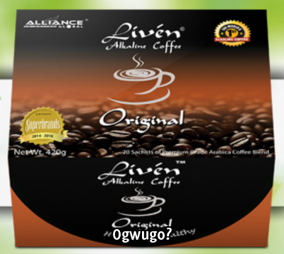 Liven Alkaline Coffee - Original High quality product from Alliance in Motion Global: unable to load image