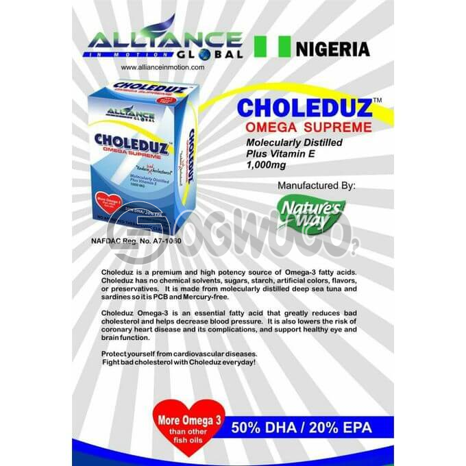 Alliance In Motion Global Choleduz Food Supplement. Wonder working products for your health