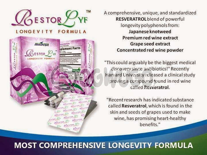 Restorlyf Longevity and Anti aging Formula Alliance in Motion Global  your ultimate guide to health and wealth