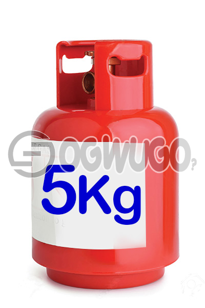 Ogwugo 5KG Cooking Gas Available for Refill Place order now and we will come refill your cylinder wherever, whenever.