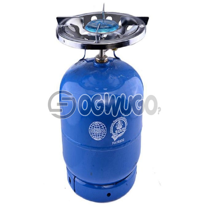5KG GAS CYLINDER AND BURNER original foreign cylinder that is very durable and efficient order now and we will deliver it to your doorstep