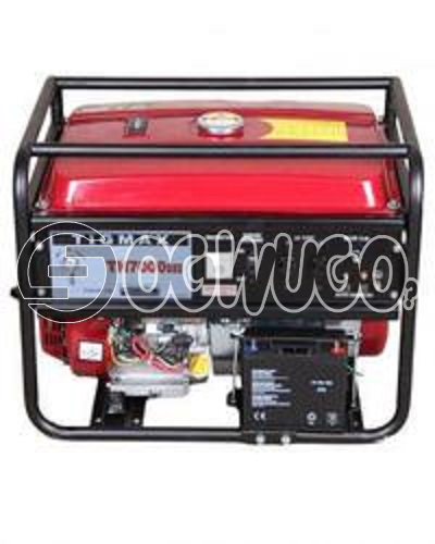 Tigmax Th7000dxe Elemax Face Gasoline Generator, Rated output(KVA): 5.0 Maximum output(KVA): 5.5 Rated voltage/frequency(V/Hz): 220/50 Rated current(A): 8.3 Power factor(COS): 1.0 Voltage adjust: AVR