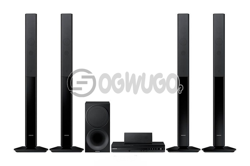 Samsung HT-F455k Home Theater, High quality surround sound from your TV and Upscale your Media collection.