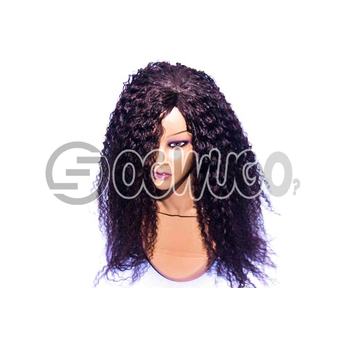 Caribbean Synthetic Human Hair Wig, hair length of 20 inches. This order takes two working day to be delivered from when you place order