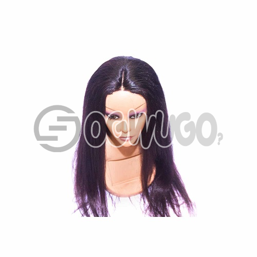 Indian Straight Hair Human Hair Wig, hair length of 22 inches. This order takes two working day to be delivered from when you place order: unable to load image