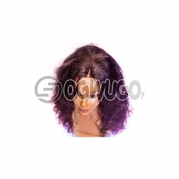 highlighted Peruvian body wave Human Hair Wig, hair length of 18 inches. This order takes two working day to be delivered from when you place order