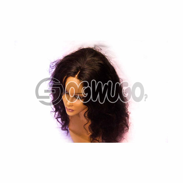 Highlighted body wave peruvian Human Hair Wig, hair length of 20 inches . order takes two working day to be delivered from when you place order