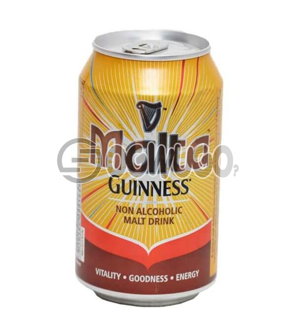 MALTA GUINNESS NON ALCOHOLIC CAN MALT DRINK WITH A 33CL PACK SIZE