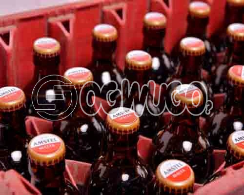 Amstel Malta premium low sugar formulated Drink x 24 bottles in a crate