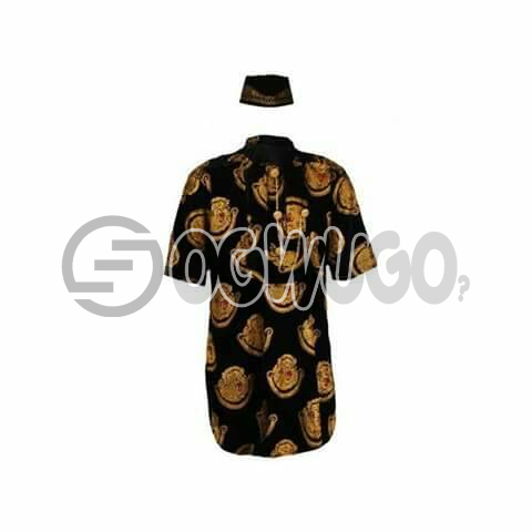 Oyenx Original Isi Agu Traditional wear and cap.  This takes  6 working days to be delivered (If your size is extra large, it will attract an additional N500)