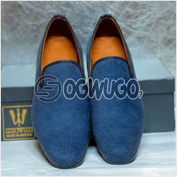 Izzowuzi Suede slip-on casual loafers the perfect out-door foot wear made in Nigeria by Izzowuzi: unable to load image