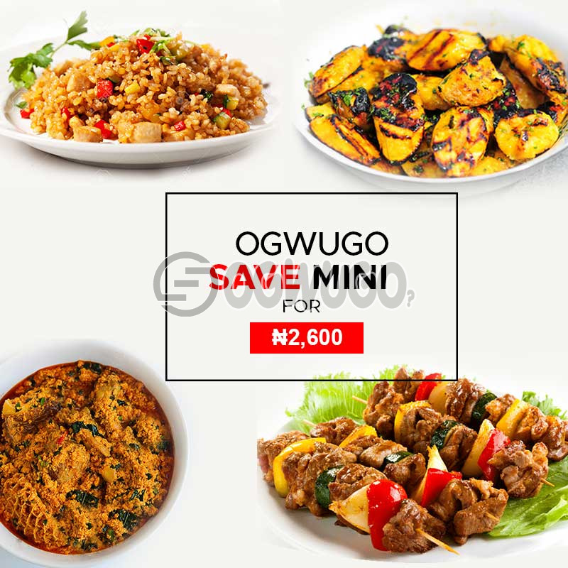 Ogwugo chop and save mini (Single package) (once subscription for this package is made, we will start delivering food to you from the next day for 5 working days according to the food menu. Please  select your meal for the day below): unable to load image