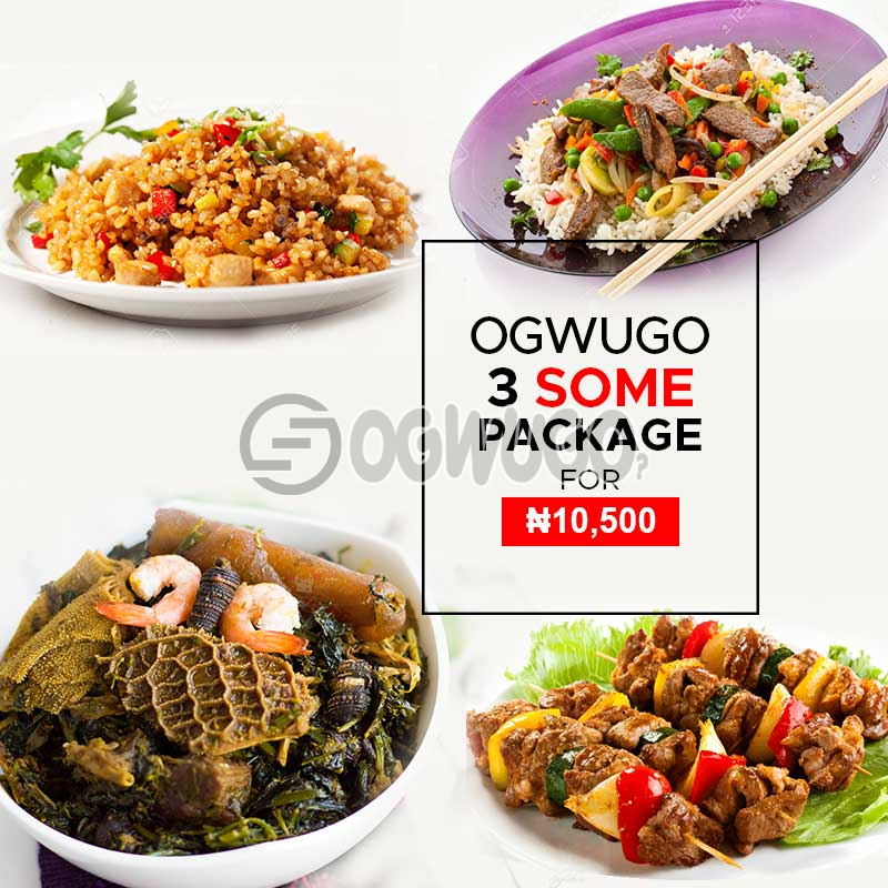 3 SOME PACKAGE for three people (once subscription for this package is made, we will start delivering food to you from the next day for 5 working days according to the food menu. Please  select your meal for the day below)