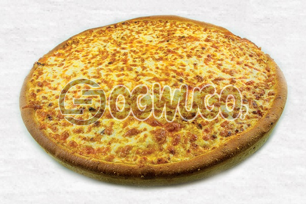 Ultimate Cheese Lovers (LARGE) Made with Thin Crust, Tomato Sauce and Cheese. Ideal for Parties, Hangouts and Get together s with Family and friends.