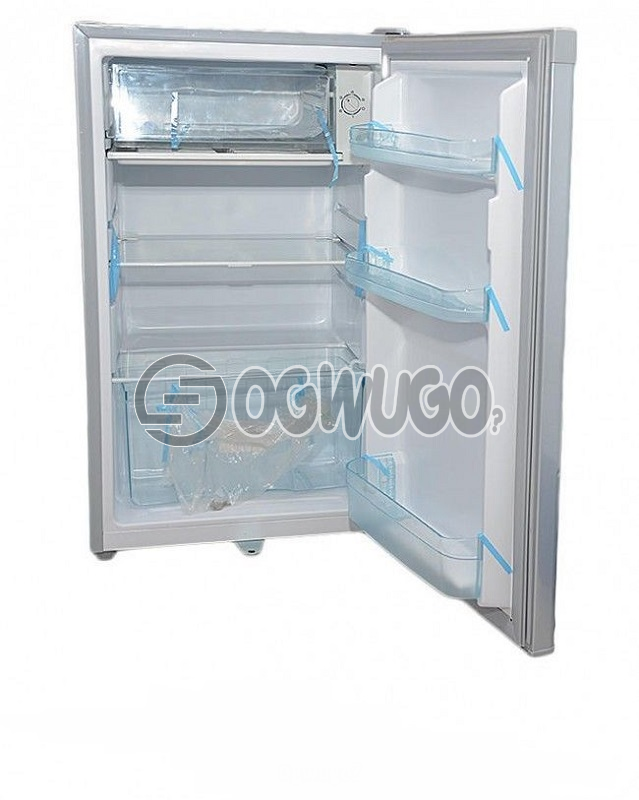 Haier Thermocool Single Door Small Refrigerator HR-132 Convenient lock, Direct cooling technology, Fully tropicalized compressor wide voltage design, Back roller and adjustable height feet, easy to clean.
