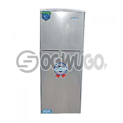 Haier Thermocool Double Door Fridge 180 Liters storage capacity Direct cooling technology  HRF-180EX - Silver: unable to load image