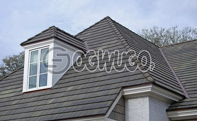 Roof Shingles ( Tile ) Stone coated  shingle roof tiles. Sold per Square Meter.