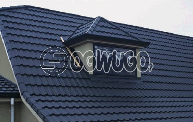 Milano Stone Coated Roofing Sheet. Sold per Square Meter. quality roofing sheet, Long Lasting, and E