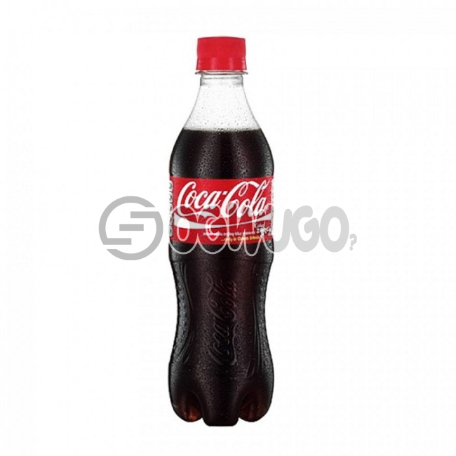 Chilled Carbonated Coca-cola pet soft drink. This product is crisp, smooth and refreshing.