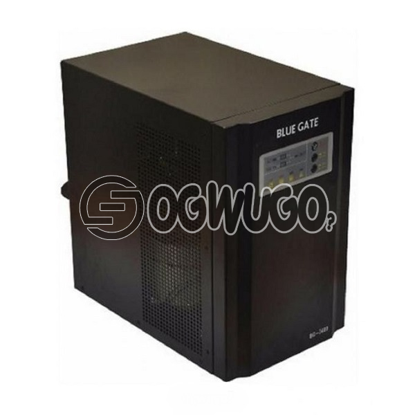 BLUE GATE 3.4KVA Pure Sine Wave Inverter, UPS, AVR (Stabilizer) and charger function Generator compatible Low power self-consumption Fast changeover, guarantees uninterrupted power supply