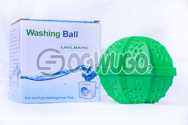 One piece of non-toxic Laundry ball or Washing ball, wash without detergent