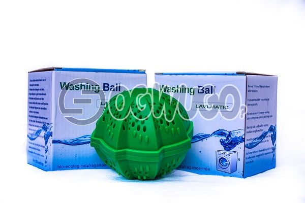 Two pieces of non-toxic Laundry ball or Washing ball, wash without detergent
