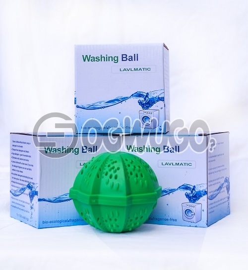 Three pieces of non-toxic Laundry ball or Washing ball, wash without detergent: unable to load image